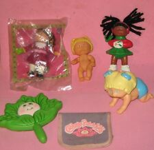 MINI CABBAGE PATCH DOLLS & MISC.-LOT of 6 ITEMS