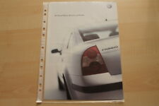 74936) VW Passat Business Family Paket Prospekt 06/2002