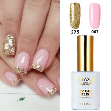 2 PIECES RS 067_295 Gel Nail Polish UV LED Glitter Varnish Soak Off 15ml New