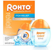 ROHTO Cooling EYE DROPS ITCH RELIEF Relieves Redness Itching Burning EXP. 7/17