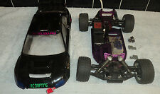 CEN FUN FACTOR 1/10th SCALE NITRO BUGGY ROLLING CHASSIS. SPARES or REPAIRS
