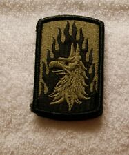 US ARMY PATCH ,12TH AVIATION BRIGADE, MULTICAM , WITH  VELCRO