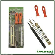 Chain Saw Sharpening Kit by Forester,Fits Mid Size Stihl Saws,MS250-260,11/64""