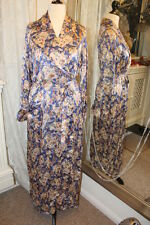 1930s 1937 silk kimono dressing gown robe housecoat - Ditsy Vintage - Size Small