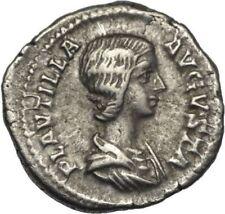 Plautilla 202-205 n.chr. denar