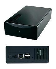 """Verbatim 3,5"""" Zoll Netzwerk Festplatten Gehäuse / NAS / FTP, DHCP, Media-Server"""
