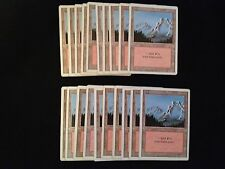 Magic the Gathering MTG**20x Basic Land*SAME ART*Mountain*Revised*FREE SHIPPING