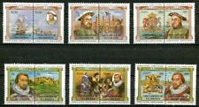 SAINT VINCENT GRENADINES 1983 ROYALTY - MONARCHS, KING HENRY VIII - SHIPS SET!
