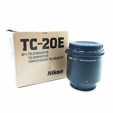 Nikon TC TC-20E MK I AF-I AF-S TELECONVERTER Lens -BB-