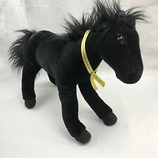 "Breyer Black Stallion Plush Horse with 2 Posable Legs and Tail 18"" 45.72 cm"