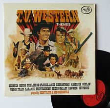 """Vinyle 33T Geoff Love and his Orchestra  """"T.V. western themes"""""""