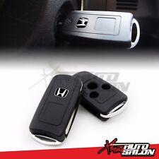 JDM Black H Folding Flip Key Shell Remote Case FIT HONDA CIVIC SI FA5 FG2 CRZ CR