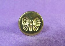 Vintage Mid-Century Butterfly Moth Italy Brass Sealing Wax Stamp Seal