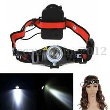 2000LMLED Faro Cabeza Linterna Frontal Impermeable Waterproof Headlamp Headlight