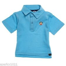 Paul Frank Classic Polo Shirt  Blue Baby  Boy's Size 18M NWT