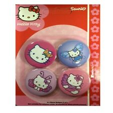 HELLO KITTY BADGE PACK  - PARTY BAG FILLERS - GIRLS PRESENT