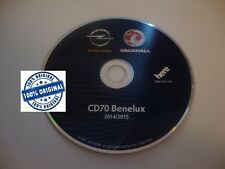 Opel Benelux CD70 DVD90 navigations disc 2014/2015
