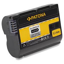 BATTERIA EN-EL15 EN EL15 Litio per Nikon D810A D750 D600 D610 D800 E D7200 D500