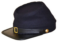 American Civil War Reenactment Quality Union Blue Wool Kepi Cap Medium 56/57cms