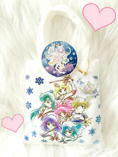 ❤ Sailor Moon x It's Demo Uranus Neptune Kawaii Mini Tote Bag Cookies Charm❤