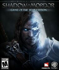 Middle Earth: Shadow of Mordor GOTY PC Mac [Steam Key]  Game+ALL DL -Region Free