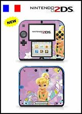 SKIN STICKER AUTOCOLLANT DECO POUR NINTENDO 2DS REF 73 FEE CLOCHETTE