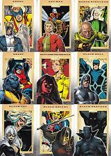 MARVEL 75TH ANNIVERSARY 2014 RITTENHOUSE ARCHIVES COMPLETE BASE CARD SET OF 90