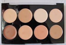 Technic Colour Fix Cream Foundation 8 Shade Contour Palette.