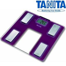 TANITA Digital Bathroom Weighing Body Fat Scan Composition Monitor Scale #UM040