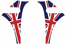Mini Cooper A-Panel Decal Kit - English British Flag - Exact Fit - No Trimming