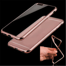 Slim Crystal Clear Soft Silicone Gel TPU Back Phone Case ShockProof Bumper Cover