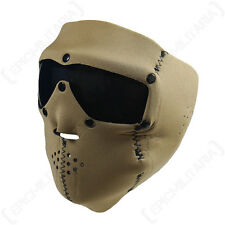 SWISS Eye COYOTE Neoprene Face Mask-Tinted Lens-Airsoft Paintball SCI