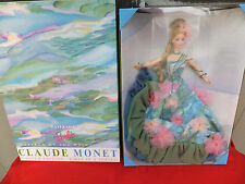 Water Lily Barbie Doll 1997  1st in Series Limited Edition Claude Monet NRFB MIB