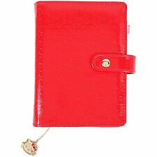 2017 Hello Kitty 6-Rings Schedule Book Agenda Planner Embossing Red