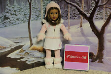 """American Girl 2008 """"Snowy Chic Outfit"""" - COMPLETE - RETIRED - EUC"""