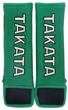 "Takata Racing 3"" (75mm) Harness Pad Pair - Green"