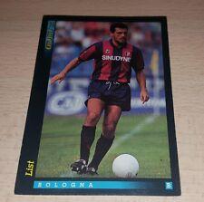 CARD GOLD 1993 BOLOGNA LIST CALCIO FOOTBALL SOCCER ALBUM