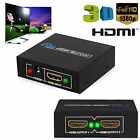 2 Output 1 Input HDMI Splitter Amplifier 2 Way Switch Box Hub For PS3 1080P HDTV
