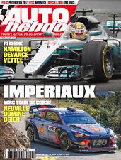 AUTO HEBDO n°2109 NEUF du 12/04/2017 : F1 GP Chine - WRC Corse - Indycar - WTCC