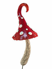 Enchanted Miniature Red Mushroom for a Miniature Fairy Garden and Gnomes
