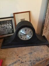 Antique Unknown Maker Mantel/Shelf Clock W/Works - Parts/Repair! Project!