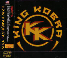 KING KOBRA St + 1 JAPAN CD Paul Shortino Carmine Appice Rough Cutt Cactus 2011