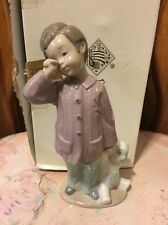 LLADRO NAO 1039 Sleepy Head Sleepy Boy with Be Retired! Mint! Original Box!