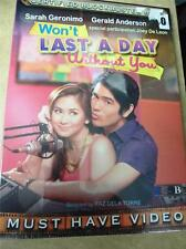 Won't Last A day Without You Sarah Geronimo tagalog Filipino dvd Philippines