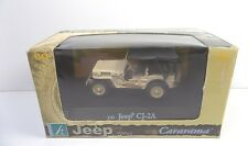 CARARAMA WILLYS JEEP CJ-2A MINT BOXED 1:43