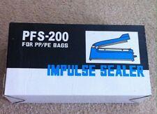 Impulse Sealer PFS-200 for PP/PE bags