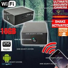 Home Security System WIFI IP Camera Car Anti Theft Motion Voice Activated no SPY