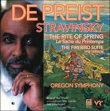 Stravinsky: The Rite of Spring; The Firebird Suite (CD, Apr-2001, Delos)  b40