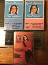 Nana Mouskouri x 3 Return To Romance & The Magic Of tested cassette tapes EX