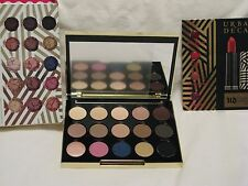 Urban Decay Gwen Stefani Eye Shadow Palette NIB 15 Shades + 4 Lipstick Samples!